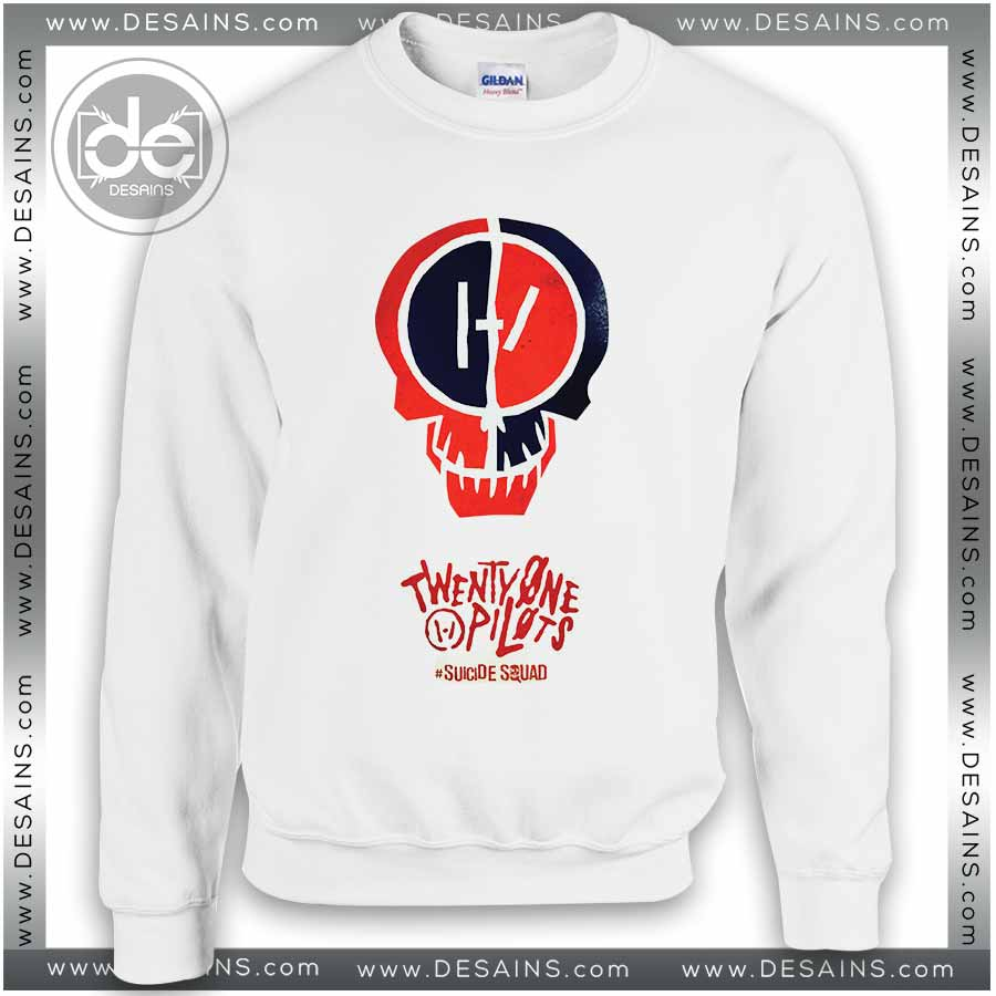 Sweatshirt Twenty One Pilots Suicide Squad Sweater Womens and Mens