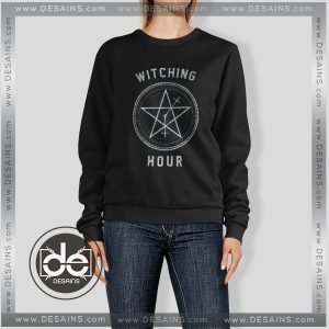 Sweatshirt Witching Hour Symbols Sweater Womens and Sweater Mens