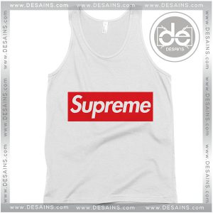 Buy Tank Top Supreme Logo Custom Tank top Womens and Mens Adult