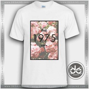 Tshirt The 1975 Rose Cover Tshirt mens Tshirt womens Tees Size S-3XL