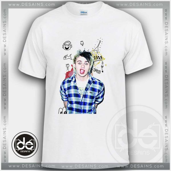 Buy Tshirt 5SOS Michael Clifford Smile Tshirt mens Tshirt womens