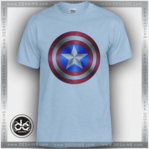 Buy Tshirt Captain America Shield Steel Tshirt mens Tshirt womens Tees size S-3XL