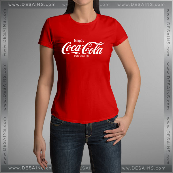 Buy Tshirt Enjoy Coca Cola Logo Tshirt mens Tshirt womens Tees size S-3XL