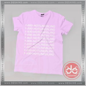 Buy Tshirt Hotline Bling 1800 Drake Tshirt mens Tshirt womens Tees size S-3XL