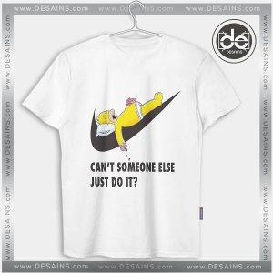 Buy Tshirt Just Do It later Simpsons Tshirt mens Tshirt womens Tees size S-3XL