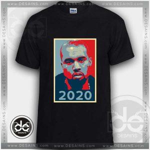 Tshirt Kanye West Running President 2020 Tshirt mens Tshirt womens Tees S-3XL