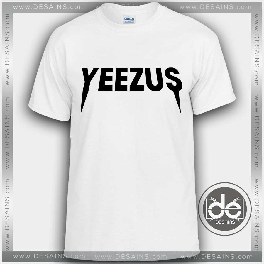 Tshirt Yeezus Kanye West Logo Album Tshirt Mens Tshirt