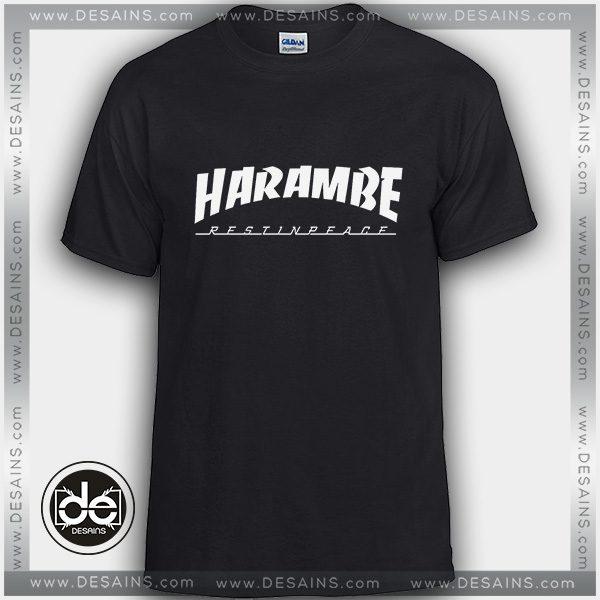 9a0c7a0dd Buy Tshirt Thrasher Rip Harambe Tshirt Womens Tshirt Mens Size S-3XL