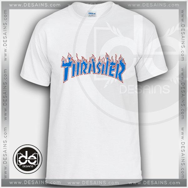 Buy Tshirt Thrasher Skate Blue Fire Tshirt Womens Tshirt Mens Size S-3XL 4acfe3fd6e