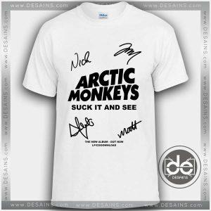 Buy Tshirt Arctic Monkeys Signature Album Tshirt Womens Tshirt Mens