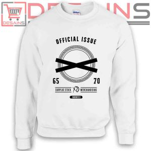 Sweatshirt Official Issue XO the Weeknd Sweater Womens Sweater Mens White