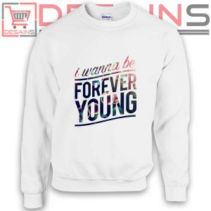 Sweatshirt One Direction I wanna be forever Sweater Womens and Mens