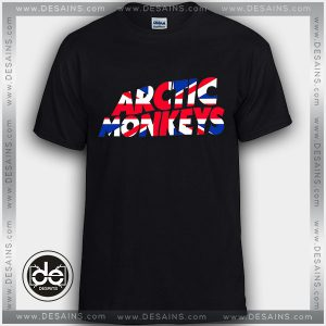 Buy Tshirt Arctic Monkeys UK Flag Tshirt Womens Tshirt Mens Tees size S-3XL