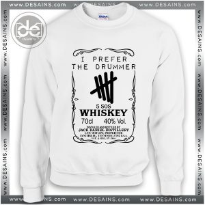 5c754b2bc Buy Sweatshirt 5 Seconds Of Summer Whiskey Sweater Womens Sweater Mens