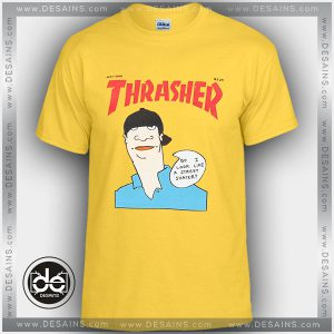 Buy Tshirt Thrasher Gonz Yellow Tshirt Womens Tshirt Mens Tees size S-3XL