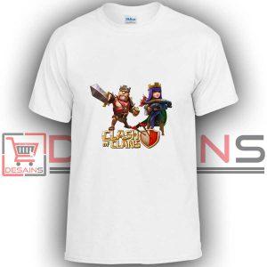 Buy Tshirt Clash Of Clans Couple Tshirt Kids Youth and Adult Tshirt Custom