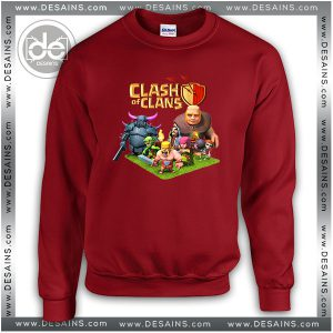 Buy Sweatshirt Clash Of Clans Game Sweater Womens and Sweater Mens