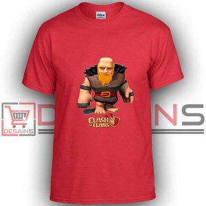 Buy Tshirt Clash Of Clans Giant Level Six Tshirt Kids Youth and Adult Tshirt Custom
