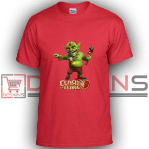 Buy Tshirt Clash Of Clans Goblin King Tshirt Kids Youth and Adult Tshirt Custom