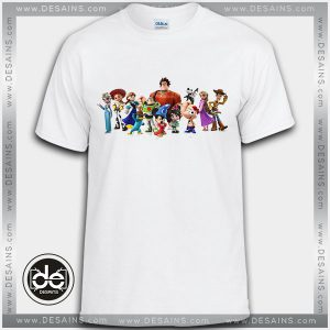 Buy Tshirt Disney Animated Characters Tshirt Kids Youth and Adult Tshirt Custom