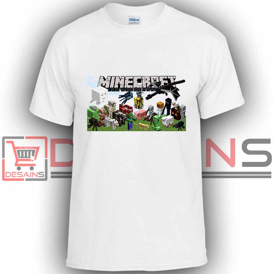 148c18b20 Buy Tshirt Minecraft Games Tshirt Kids Youth and Adult Tshirt Custom