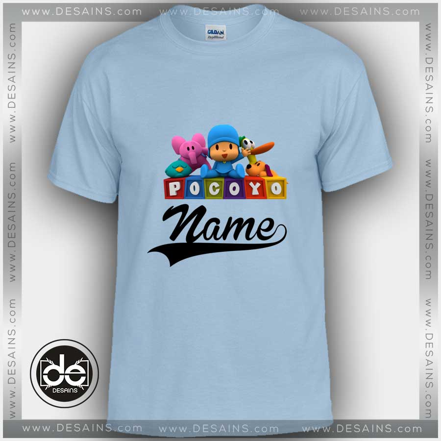 581847103fe Buy Tshirt Pocoyo Pato Eli Tshirt Kids Youth and Adult Tshirt Custom