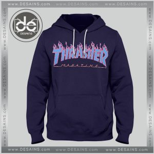 Buy Hoodies Thrasher Magazine Blue Hoodie Mens Hoodie Womens Adult Unisex