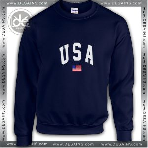 Buy Sweatshirt USA American Flag Sweater Womens and Sweater Mens