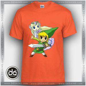 Buy Tshirt Link and Zelda Couple Tshirt Kids Youth and Adult Tshirt Custom
