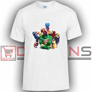 Buy Tshirt Lego Marvel Superhero Tshirt Kids and Adult Tshirt Custom