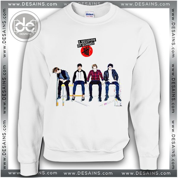 87f86a4aa Buy Sweatshirt 5 Seconds of Summer Rock band Sweater Womens and Sweater Mens