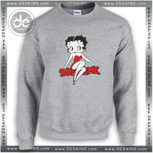Buy Sweatshirt Betty Boop Supreme Sweater Womens Sweater Mens