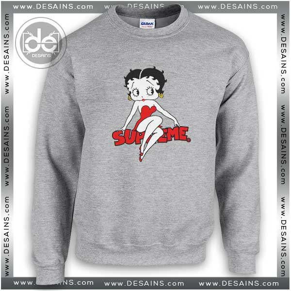 9a8040c6bb9a Buy Sweatshirt Betty Boop Supreme Sweater Womens Sweater Mens ...