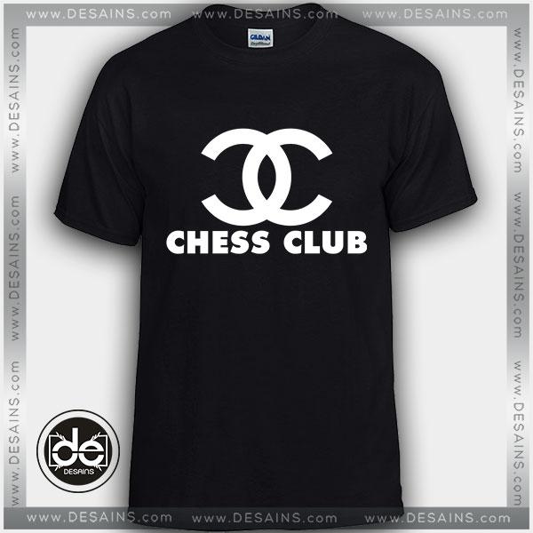 bb91fc5f Buy Tshirt Chess Club Chanel Tshirt Womens Tshirt Mens Tees Size S ...