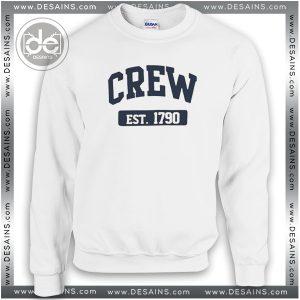 Buy Sweatshirt Crew est 1790 Sweater Womens and Sweater Mens