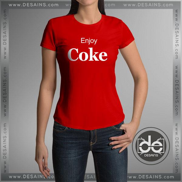 c74a2e03 Buy Tshirt Enjoy Coke Coca Cola Tshirt Womens Tshirt Mens Tees Size S-3XL