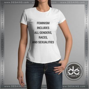 Buy Tshirt Feminism Includes All Genders Tshirt Womens Tshirt Mens Tees Size S-3XL