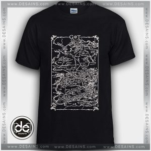 Buy Tshirt Game of Thrones Map Tshirt Womens Tshirt Mens Tees Size S-3XL