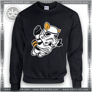 Buy Sweatshirt Star Wars Stormtrooper Cat Fly Sweater Womens and Sweater Mens