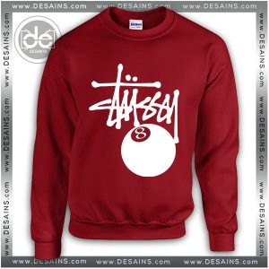 Buy Sweatshirt Stussy 8 Ball Sweater Womens and Sweater Mens