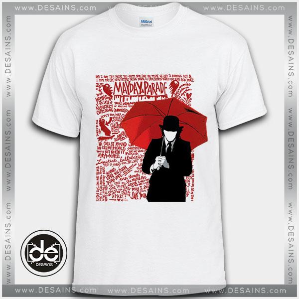 Buy Tshirt Mayday Parade Umbrella Guy Tshirt Womens Tshirt Mens Tees