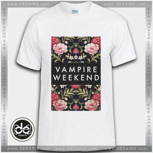 Buy Tshirt Vampire Weekend Flowers Tshirt Womens Tshirt Mens Tees size S-3XL