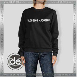 Buy Sweatshirt BLOGGING > JOGGING Sweater Womens and Sweater Mens