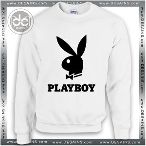 Buy Sweatshirt Playboy Logo Sweater Womens and Sweater Mens