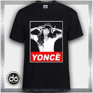3eed6f9c ... Buy Tshirt Beyoncé Yoncé Tshirt Womens Tshirt Mens Tees Size S-3XL Black