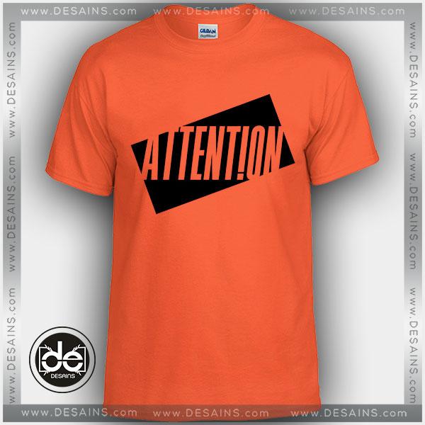 Buy Tshirt Charlie Puth Attention Tshirt Womens Tshirt Mens Tees Size S-3XL