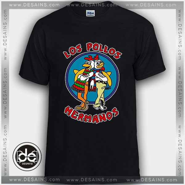 1329eec2 Buy Tshirt Los Pollos Hermanos Breaking Bad Tshirt Womens Tshirt Mens