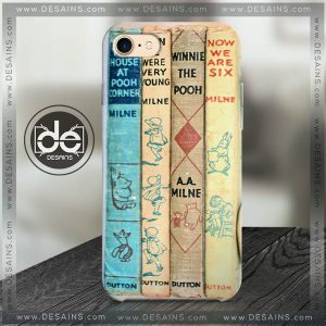 Buy Phone Cases Winnie the Pooh Vintage Book Iphone Case Samsung galaxy case