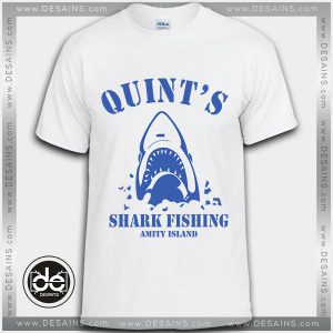 Buy Tshirt Quint's Shark Fishing Tshirt Womens Tshirt Mens Tees Size S-3XL