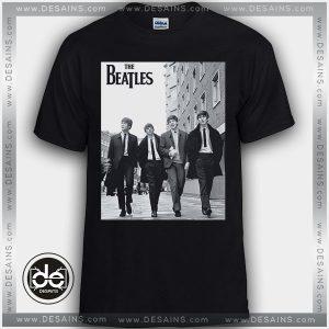 Buy Tshirt The Beatles Walking Down Street Tees Size S-3XL
